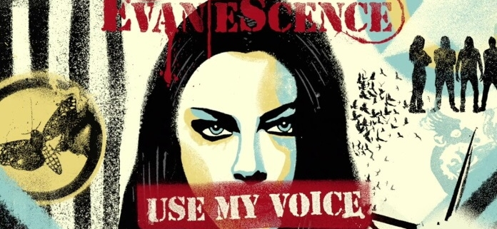 "Evanescence traz tom político e de protesto ao clipe ""Use My Voice"""
